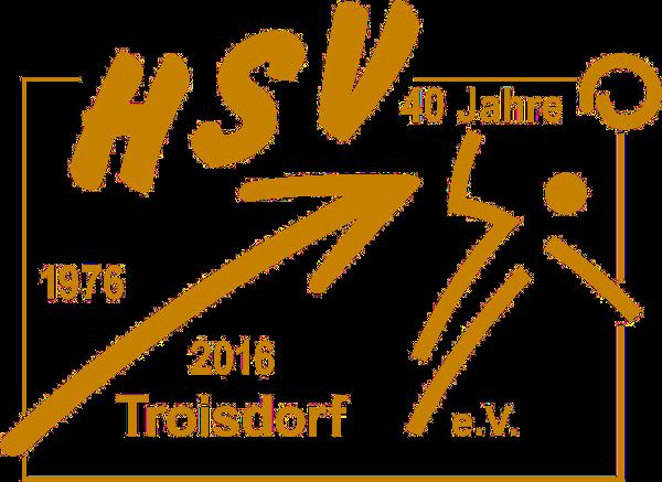 Logo HSV Troisdorf (40 Jahre Jubiläumslogo)